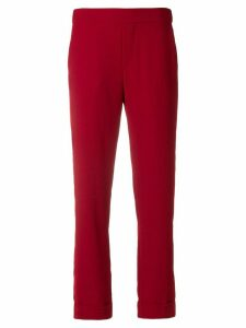 P.A.R.O.S.H. cropped trousers - Red