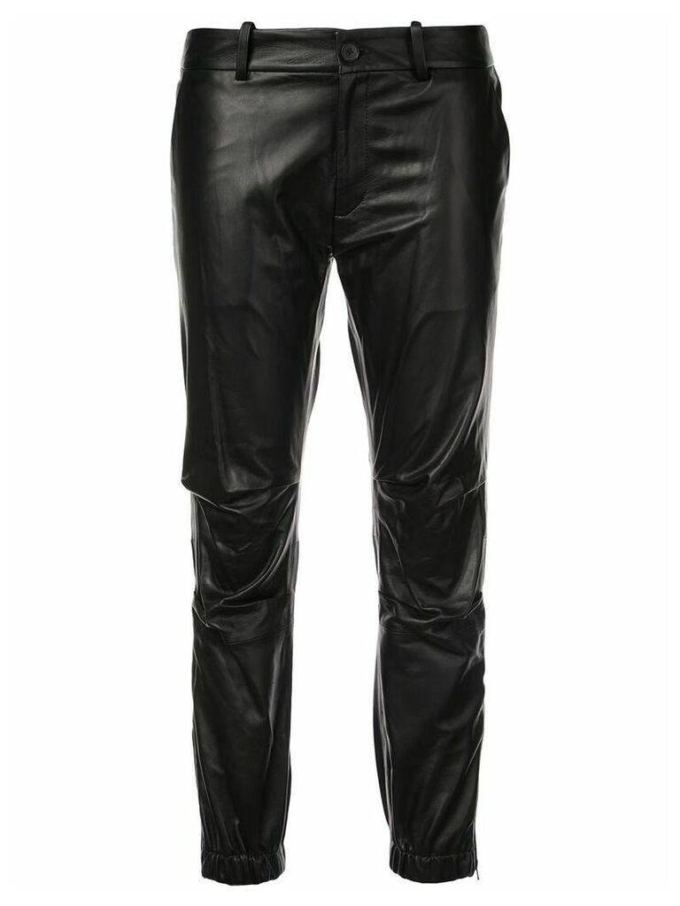 Nili Lotan cropped military trousers - Black