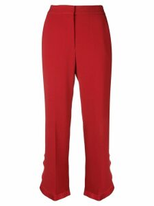 Stella McCartney classic cropped trousers - Red
