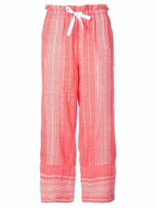 Lemlem relaxed fit pants - Red