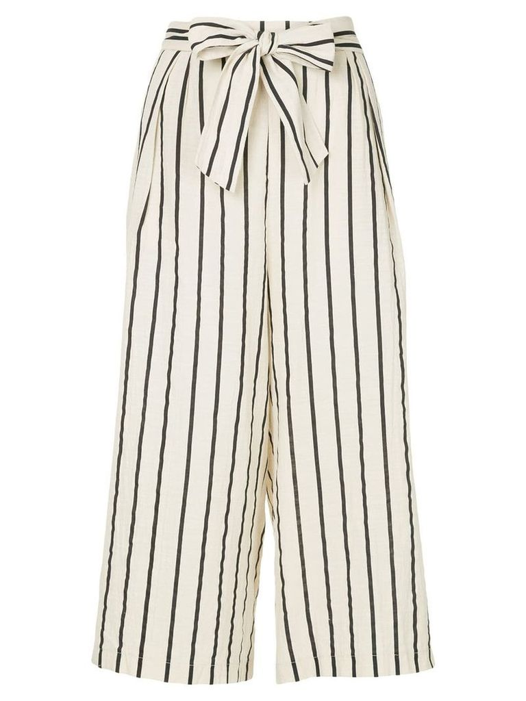 Suboo Stay wide leg trousers - Nude & Neutrals