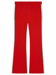 Gucci Viscose bootcut pant - Red
