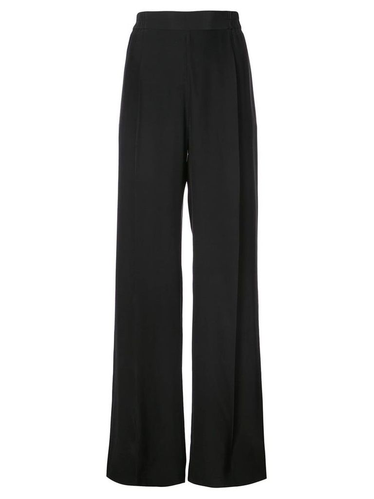 Nili Lotan wide-leg trousers - Black