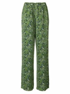 Michael Michael Kors paisley print trousers - Green