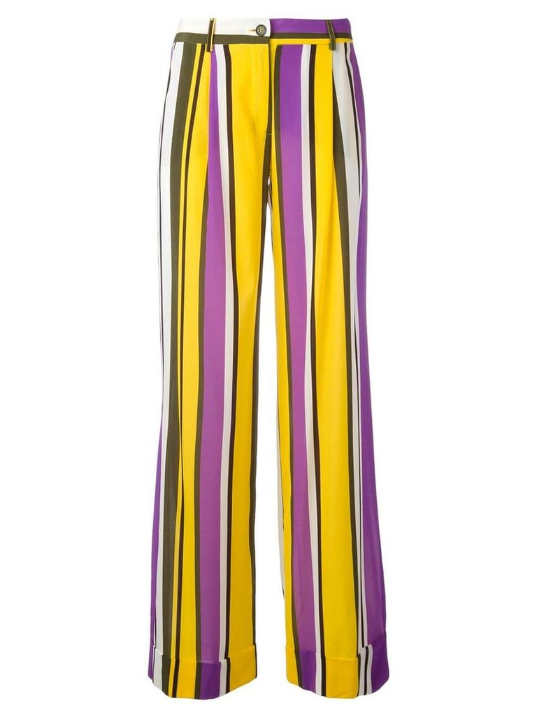P.A.R.O.S.H. Sweden flared trousers - Multicolour