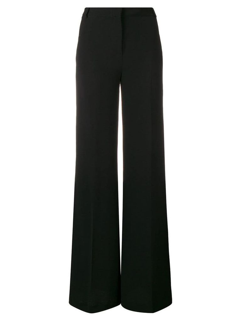 L'Autre Chose high-waisted flared trousers - Black
