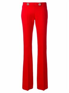 Giambattista Valli high-waisted trousers - Red