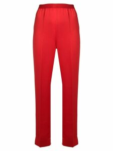 Maison Margiela high waisted trousers - Red