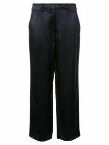 Sies Marjan Blake washed straight leg trousers - Blue