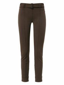 Gloria Coelho belted leggings - Brown