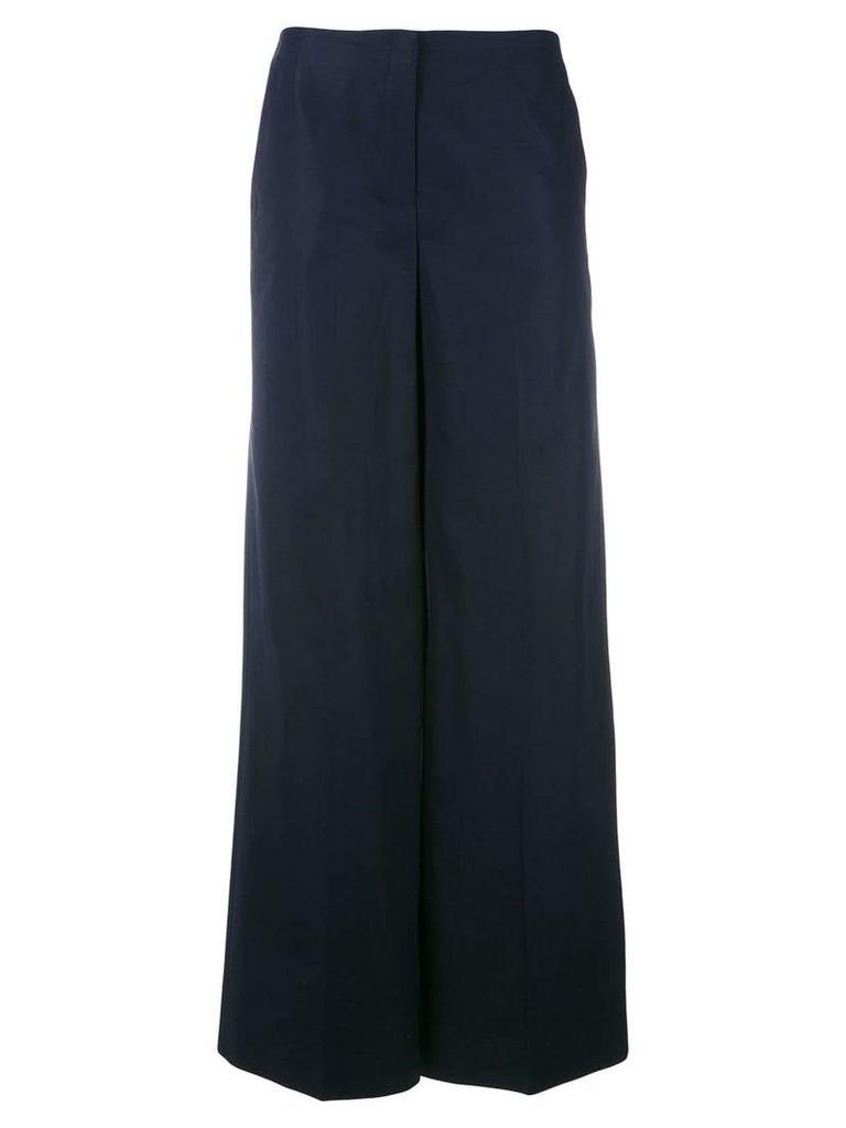 Theory 'Rieridge' palazzo trousers - Blue