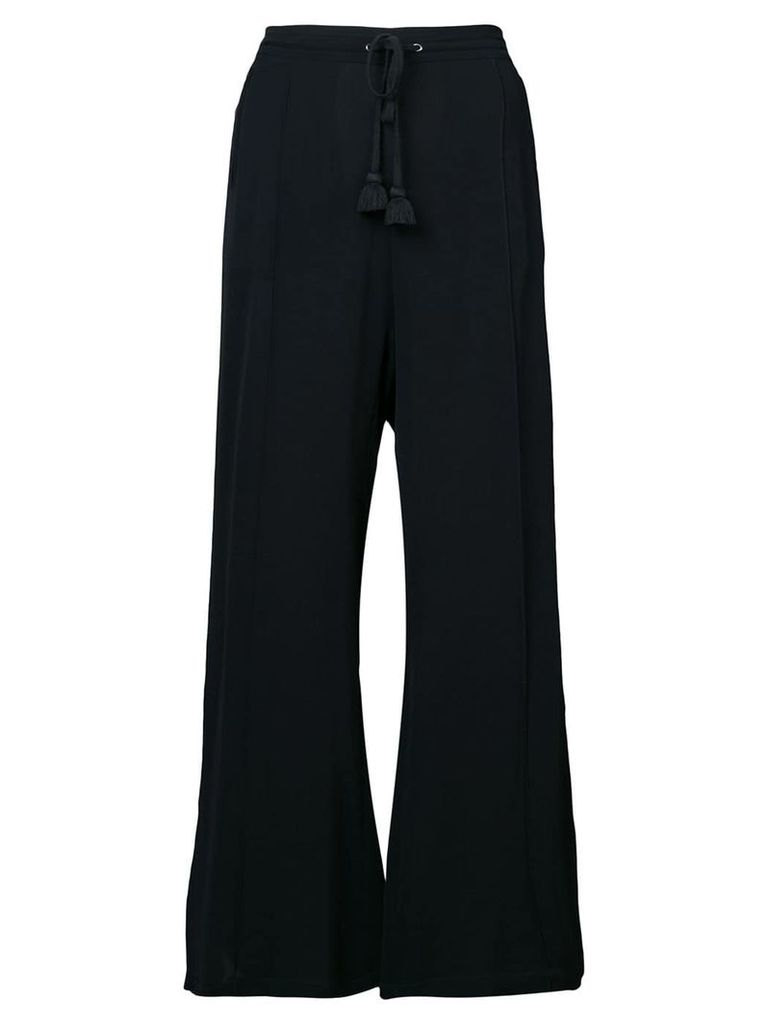 Figue Ella wide-leg trousers - Black