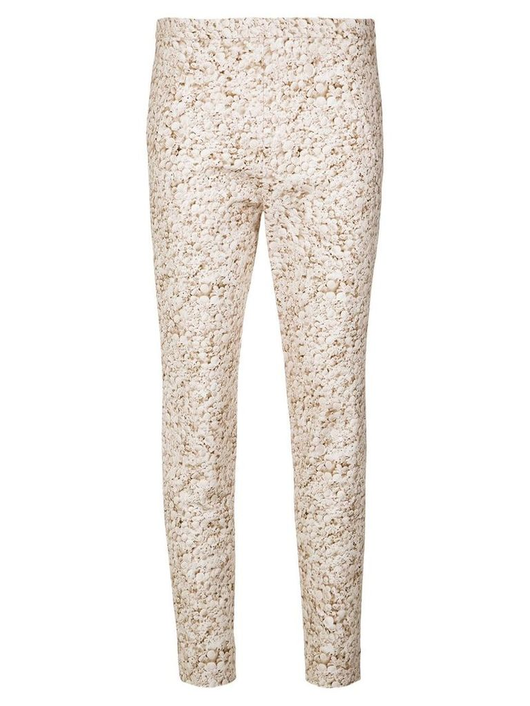 Andrea Marques printed skinny trousers - Unavailable