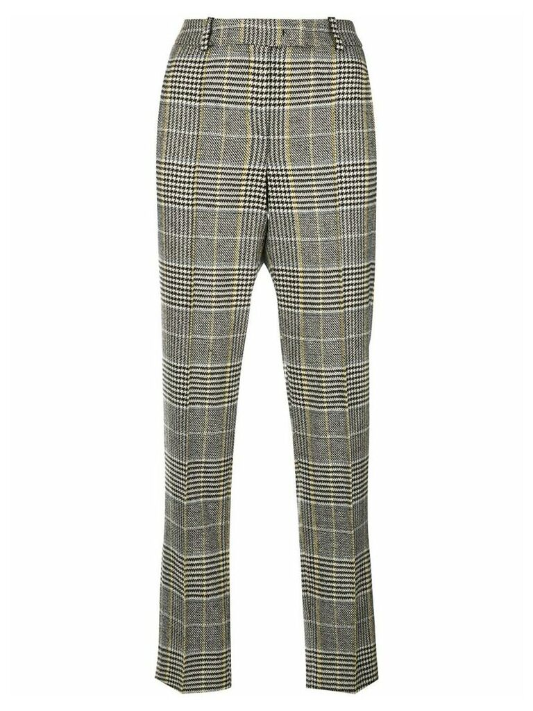 Ermanno Scervino plaid tailored trousers - Grey