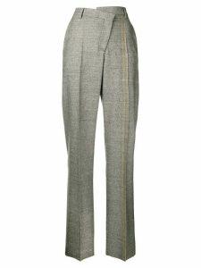 Maison Margiela asymmetric tailored trousers - Grey