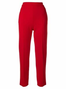Sonia Rykiel classic slim fit trousers - Red