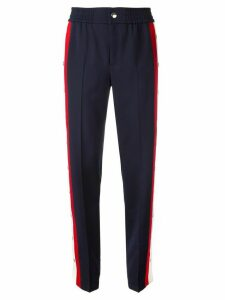 Gucci snap button trousers - Blue