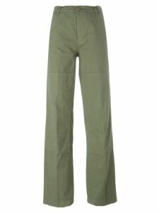 Tory Burch straight leg trousers - Green
