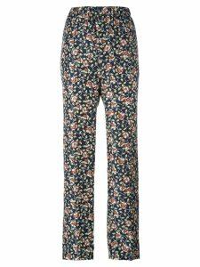 Isabel Marant printed Roya trousers - Multicolour