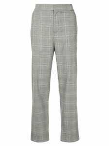 Georgia Alice high-rise Prince of Wales checked trousers - Black