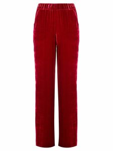 P.A.R.O.S.H. elasticated waist trousers - Red
