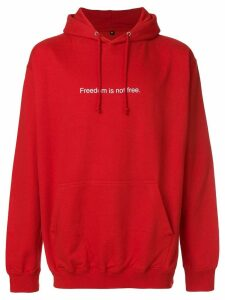 F.A.M.T. Freedom Is Not Free hoodie - Red
