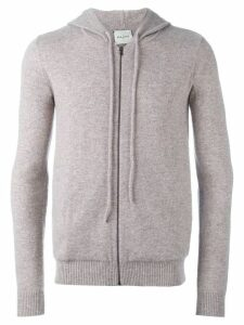 Le Kasha cashmere 'Jaipur' knitted hoodie - Neutrals