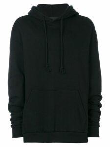 Yuiki Shimoji oversized hoodie - Black