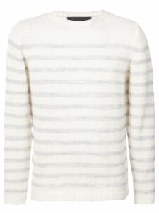 The Elder Statesman Picasso jumper - White