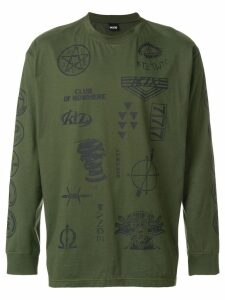 KTZ multi-stamp sweatshirt - Green
