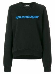 Dsquared2 puresugar hashtag sweatshirt - Black