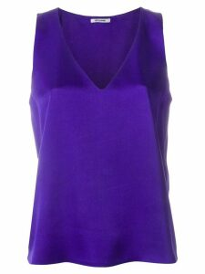 Styland sleeveless design blouse - PURPLE