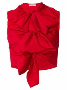 Vivetta triple knot top - Red