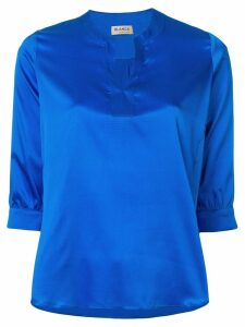 Blanca v-neck blouse - Blue