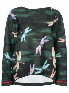 F.R.S For Restless Sleepers dragonfly print blouse - Green