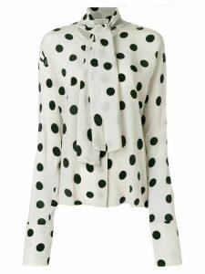Natasha Zinko polka dot blouse - PINK
