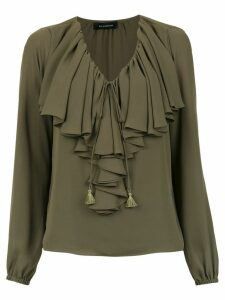 Olympiah Juli ruffled blouse - Green