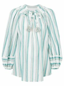 Zimmermann striped blouse - White