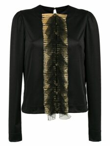 À La Garçonne embellished blouse - Black