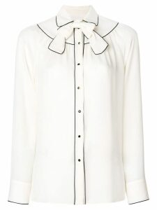 Valentino bow detail blouse - White