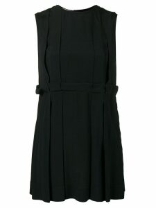 Marni pleated hem tank top - Black