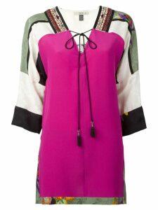 Etro tassel tie printed blouse - Multicolour