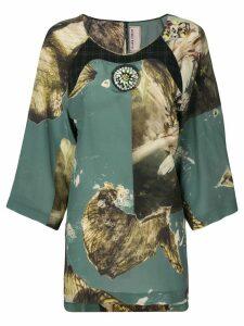 Antonio Marras printed blouse - Green