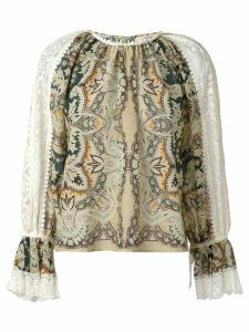 Etro floral print blouse - Multicolour