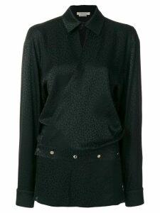 1017 ALYX 9SM leopard print blouse - Black