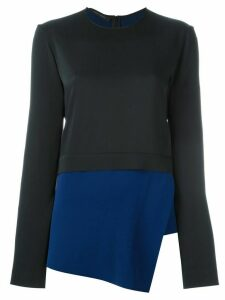Cédric Charlier layered asymmetric top - Blue
