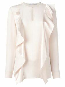Givenchy ruffle panel blouse - PINK