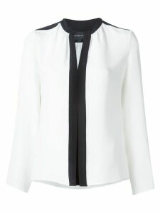 Derek Lam Kara Long Sleeve Blouse - White