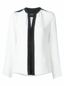 Derek Lam Kara Long Sleeve Blouse - White