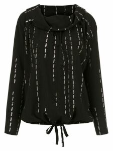 Uma Raquel Davidowicz pleated Cidra blouse - Black